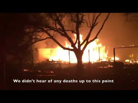 Berkeley firefighters arrive at devastating scene of fires in Santa Rosa-fire in California