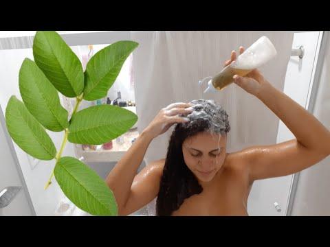 Shampoo natural de