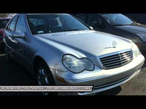 2003 mercedes benz c class paramus nj p4935a youtube for Mercedes benz of paramus