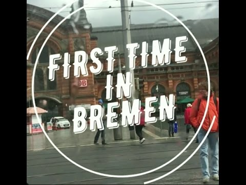 FIRST TIME IN BREMEN (GERMANY)  #Fvlog 1