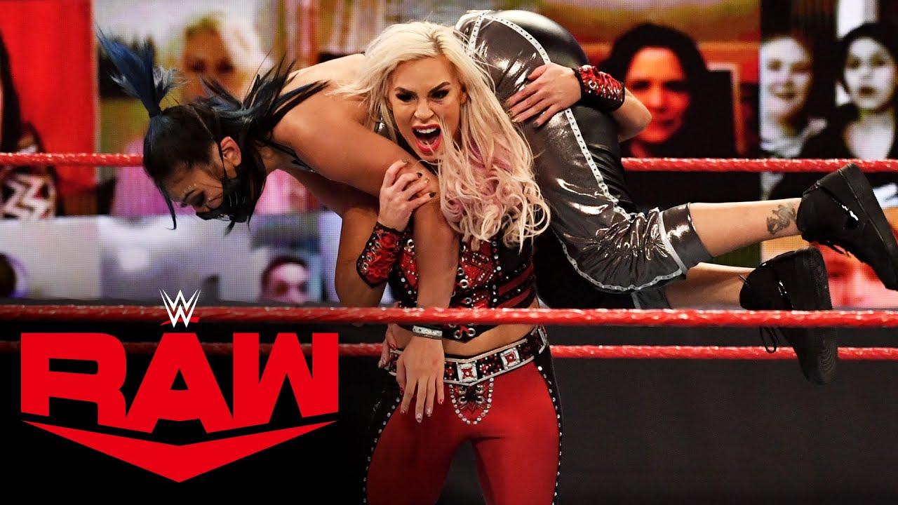 Ricochet & Dana Brooke vs. SLAPJACK & RECKONING – Mixed Tag Team Match: Raw, Dec. 7, 2020