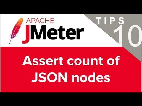 JMeter Beginner Tutorials | Tips n Tricks 10 💡 How to Assert count of nodes from a JSON Response