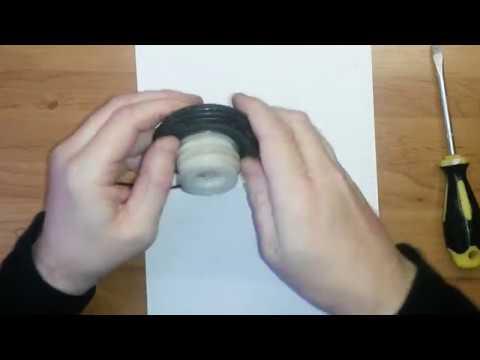 Как разобрать пробку бензобака
