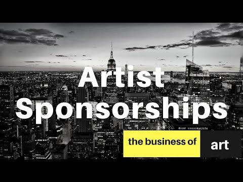 Getting Artist Sponsorships