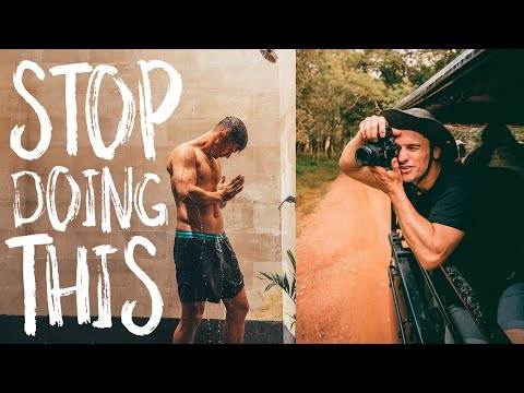 Stop doing this! - 7 Travel Photography No-No's