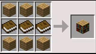 Рецепты крафта для minecraft