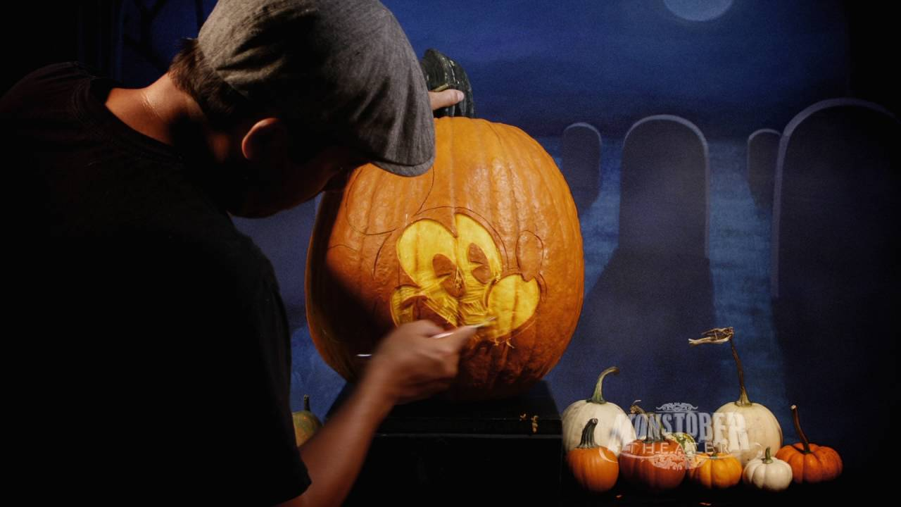 Easy Disney Pumpkin Carving Patterns New Decorating Design