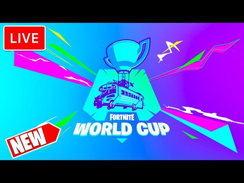 🔴 FORTNITE WORLD CUP: WEEK 2 SEMI FINALS[LIVE] 🔴
