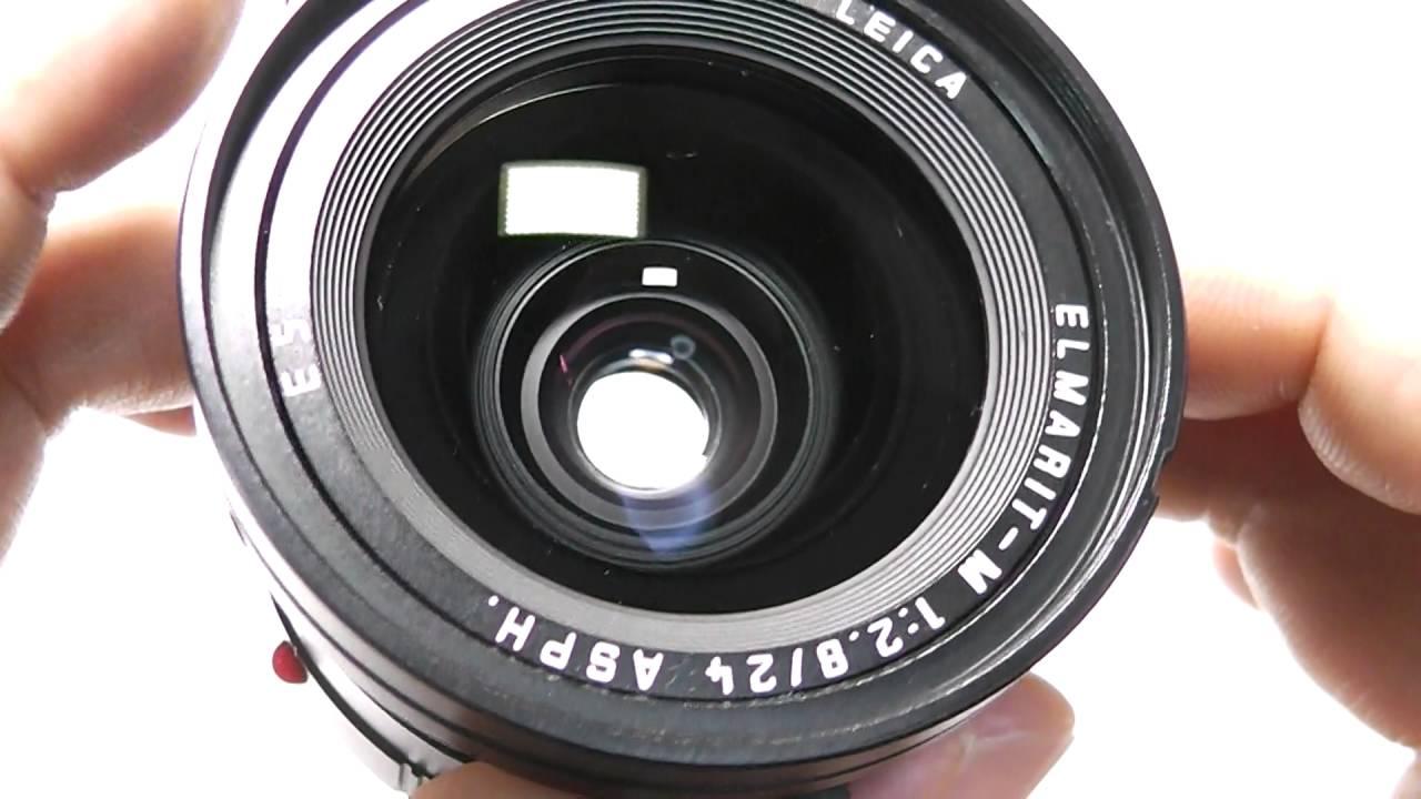 LEICA ライカ Elmarit-M エルマリート 24mm F2 8 ASPH + 純正フード + UVaフィルター + 元箱
