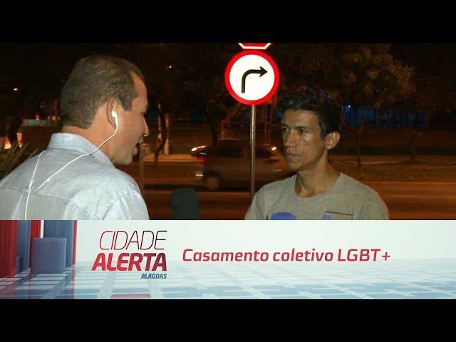 Casamento coletivo LGBT+ vai oficializar união de casais héteros e LGBTS amanhã
