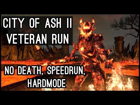 [ESO Dungeons] City of Ash 2 Veteran - No Death, Speedrun & Hardmode