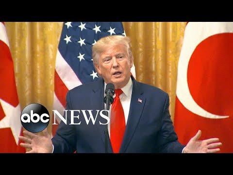 Trump on impeachment hearing: 'I hear it's a joke' | ABC News