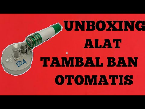 Unboxing Paketan Online. Alat Tambal Ban Otomatis
