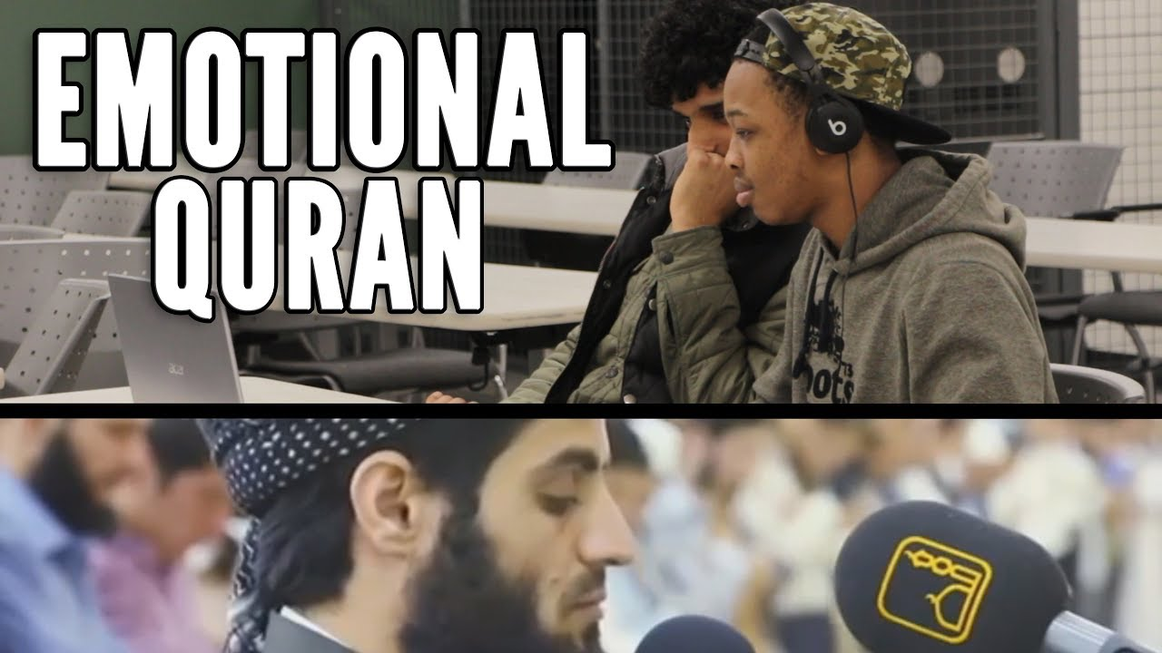 My NON MUSLIM FRIEND REACTS To Emotional Quran Recitation By Mohammad Al Kurdi