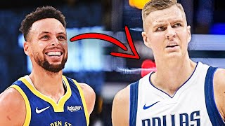 The Dallas Mavericks are Reportedly Trying To Trade Kristaps Porzingis To The Golden State Warriors