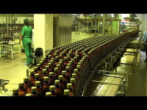 Как разливают пиво в бутылки