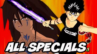 Yu Yu Hakusho Forever HD All Special Attacks [Real 2K/1440p 60Fps]