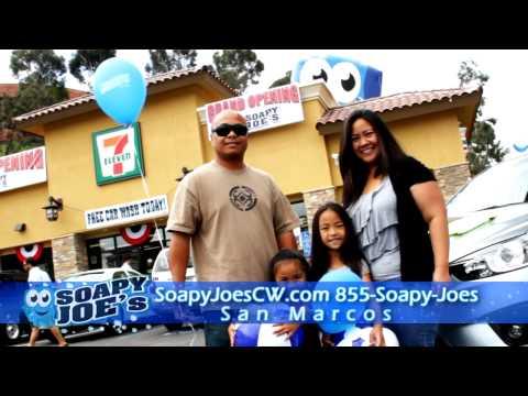 Soapy Joe's Car Wash Web Spot featuring Rancho Bernardo Location Opening