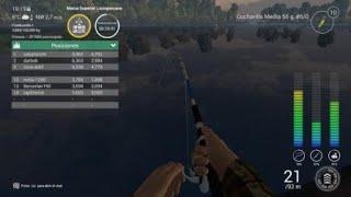 FishingPlanet Lucioperca unica New record sant croix