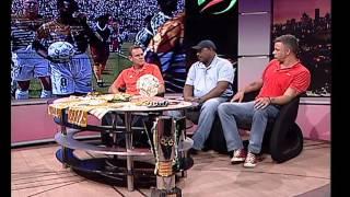 Gambar cover Thomas Mlambo interviews former footballers Neil Tovey, Linda Buthelezi and Mark Fish
