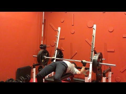 ベンチプレス100kgチャレンジ!