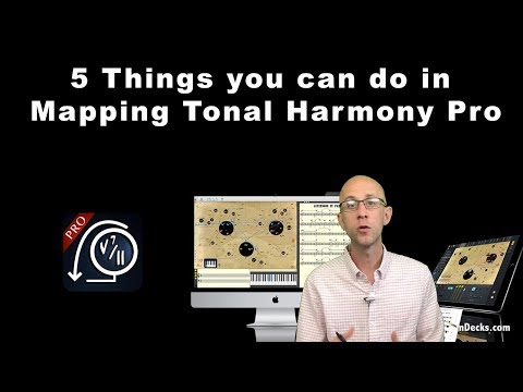 5 Music Theory Things you can do in Mapping Tonal Harmony Pro