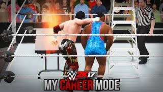 "WWE 2K17 My Career Mode - Ep. 52 - ""FLAMING TABLE!! EXTREME RULES!!"" [WWE 2K17 MyCareer Part 52]"