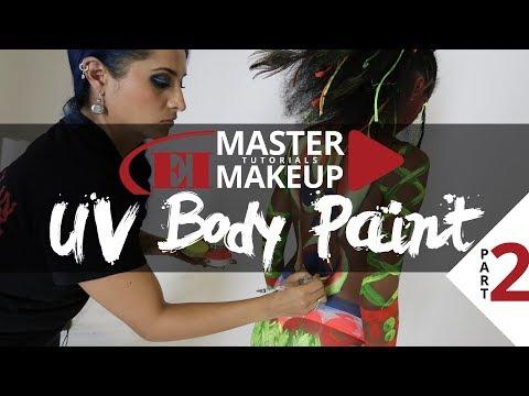 Uv Body Paint Pt Anaid Gutierrez Ei Master Makeup Tutorials