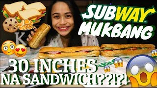 SUBWAY MUKBANG