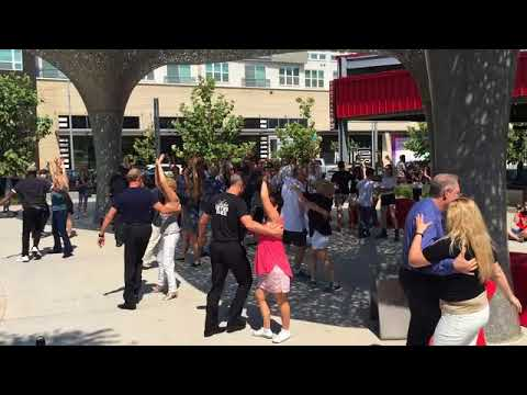 International Flash Mob - WCS 2017 - Culinary@The Domain, Austin, Texas