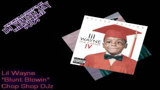 "Lil Wayne - ""Blunt Blowin"" (Chopped & Screwed) (Tha Carter 4)"