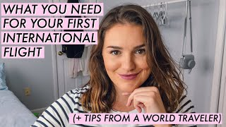 International Flight ESSENTIALS | Here's What You NEED! (+ TRAVEL TIPS)