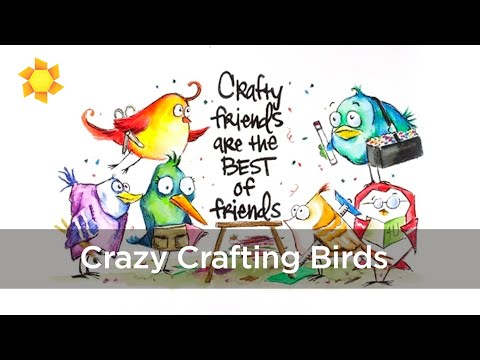 CRAZY BIRDS GO TO A CROP