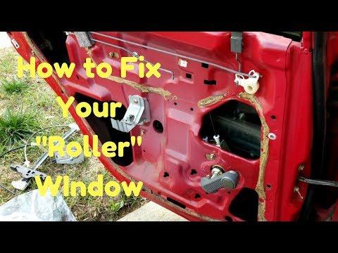 "Fix Your Manual Window Regulator | ""Rolly"" Hand Crank Fix | 92-00 Honda/Acura"