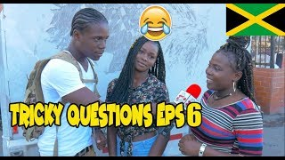 Trick Questions In Jamaica Episode 6 [Linstead] @JnelComedy @DiQuestions