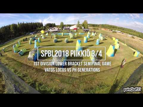 Vatos Locos vs PH Generations - SPBL2018 Piikkiö 3/4