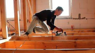 ⚫ЛУЧШИЙ ВЫБОР! Деревянный Пол за 9 $/м² | КАК построить ДЕШЕВЫЙ Дом из Газобетона? ►18 смотреть онлайн в хорошем качестве - VIDEOOO