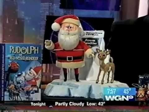 Rick Goldschmidt WGN News Interview with Restored Rankin/Bass Figures (2006)