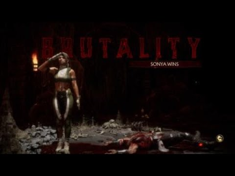 Mortal Kombat 11 Sonya Blade VS Kano (Korner Fight 1).