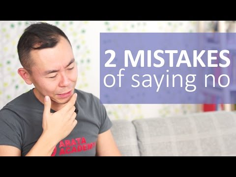 Two Common Mistakes That Prevent You From Saying No   Hello Seiiti Arata 69
