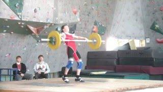 Хафизов Илья, 15 лет Рывок 57 кг