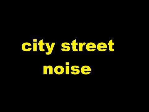city street noise Sound Effect