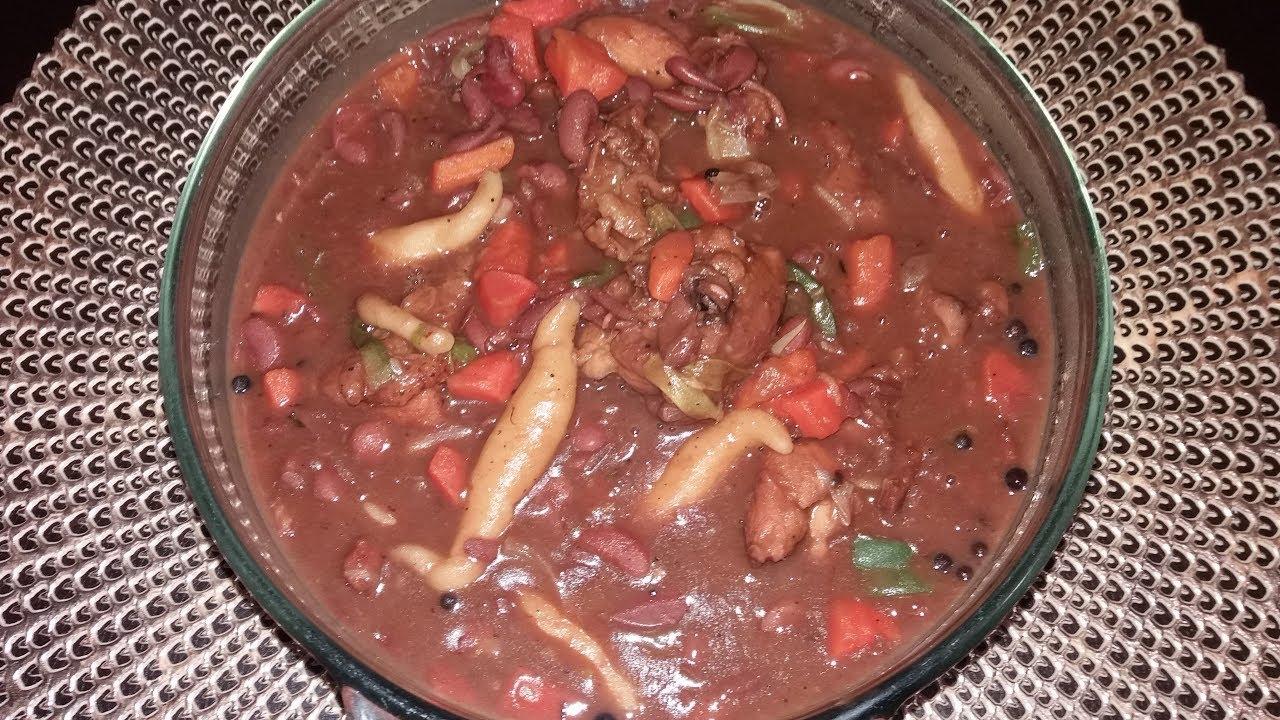 chicken stew peas  youtube