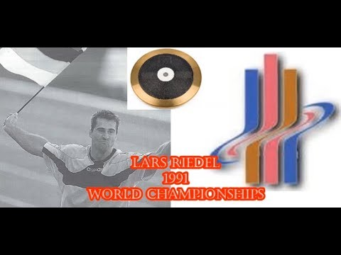 Lars Riedel 1991 World Championships  Discus 66.20 Meters.