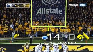 Penn State vs. Iowa Game Highlights (part 1)