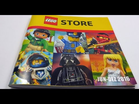Complete Lego Catalog 2hy2016 German Edition Youtube