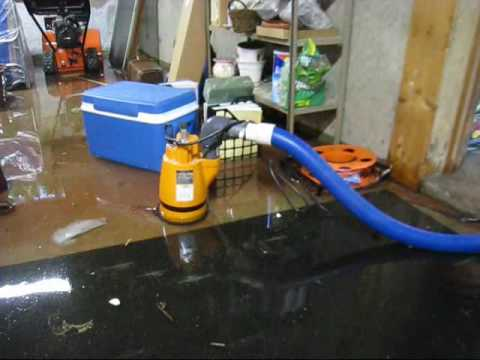 Flooded Basement Cleanup Water Removal Sudbury Wayland Weston - Basement pumps