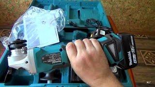 Аккумуляторная бесщёточная MAKITA DGA504RME  Обзор от сварщика.