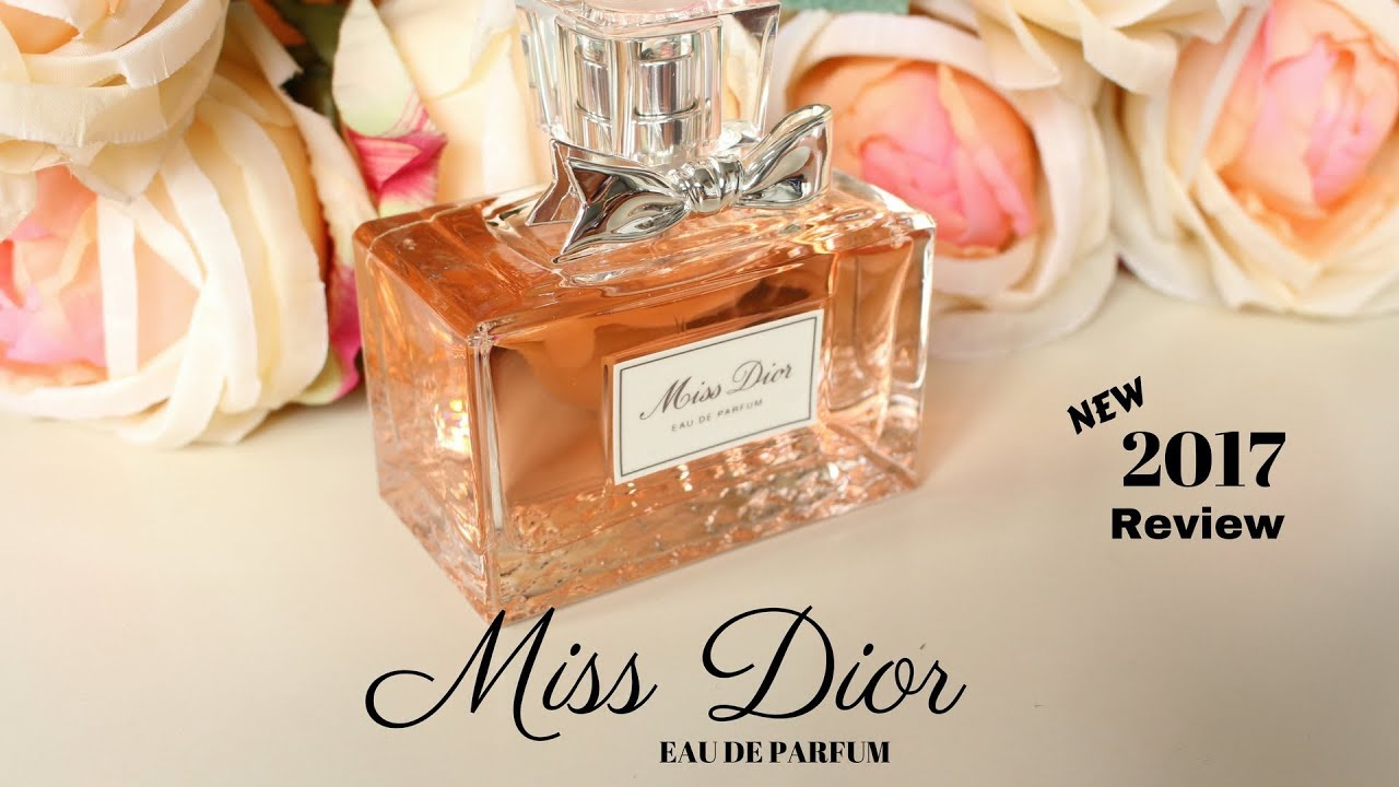 new miss dior eau de parfum 2017 review angela van rose youtube. Black Bedroom Furniture Sets. Home Design Ideas