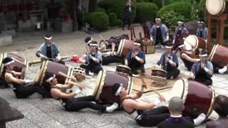 2016年5月3日、京都・法住寺 曲目:4.「屋台囃子」、5.「一会」 -...